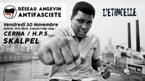 Angers : concert organisé par le Réseau Angevin Antifasciste @ L'Etincelle | Angers | Pays de la Loire | France