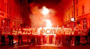 Bâle (Suisse) : 1000 antifascistes bloquent un rassemblement néo-fasciste