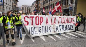 Chambéry : Récupération de l'extrême-droite à la manif' des Gilets Jaunes