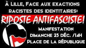 Lille : Manif pour la fermeture de la Citadelle !