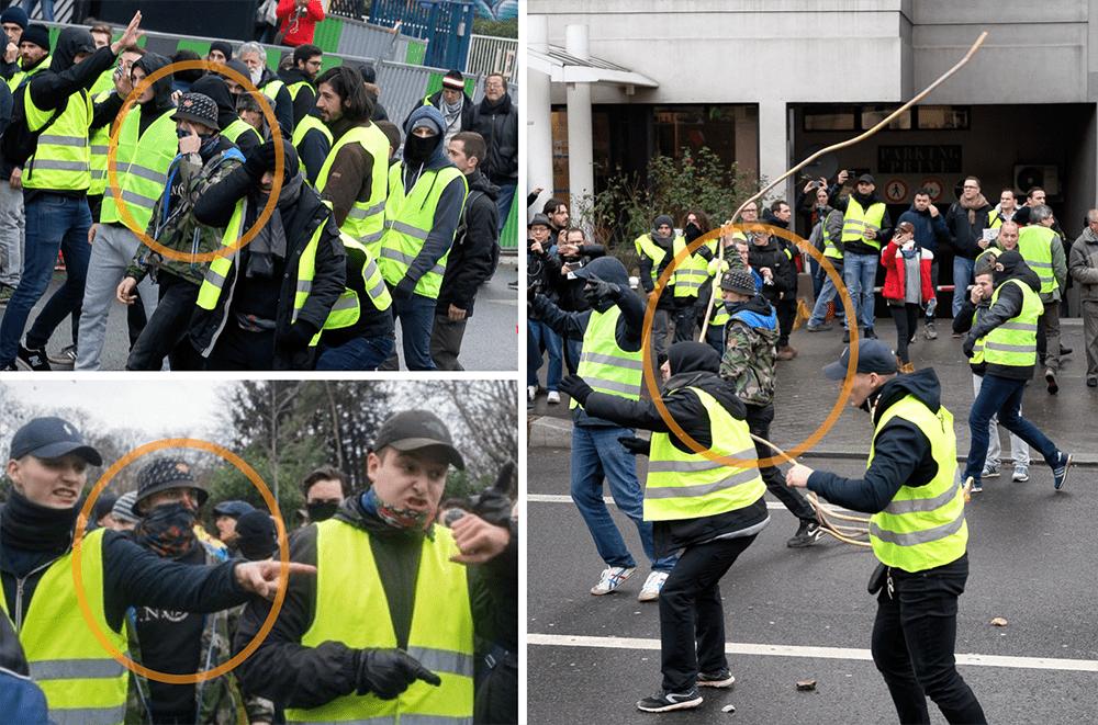 foto de La Horde Gilets jaunes : quand les nationalistes font les Zouaves