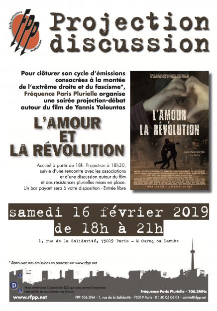 Paris : projection discussion organisée par FPP sur la montée de l'extrême droite @ Fréquence Paris Plurielle
