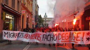 Marseille : Soutien au squat St Just contre Ravier et les fachos !