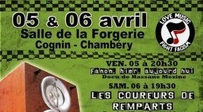 Chambéry : [5 – 6 avril] Concert Sans Frontières, 6ème édition
