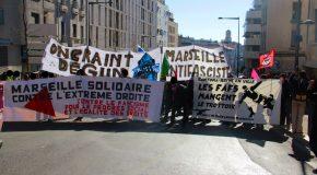 Marseille : RETOUR SUR LA MANIF ANTIFA DU 23 MARS 2019