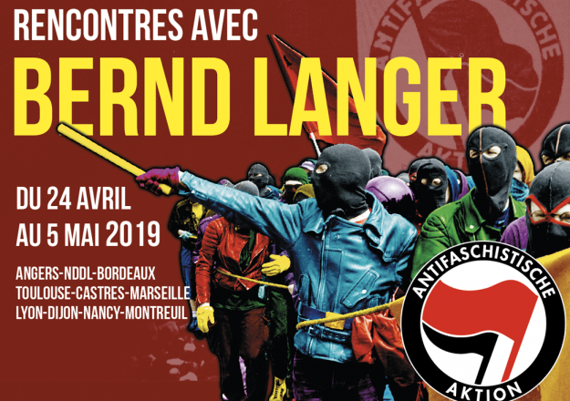 Angers : rencontre avec Bernd Langer, auteur de ANTIFA, une histoire du mouvement antifasciste allemand @ La Maison pour Tous