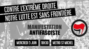 Toulouse : manifestation antifasciste