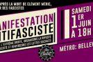 Mobilisations antifascistes 6 ans après la mort de notre camarade Clément Meric