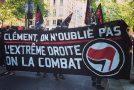 Paris : manifestation en hommage à Clément [photos]