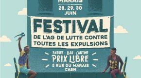 Caen : soutien au squat du Marais !