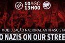 Portugal : action contre la conférence néonazie à Lisbonne le 10 aout 2019