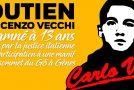 Paris : Soirée de soutien à Vincenzo Vecchi, antifasciste italien emprisonné