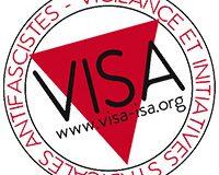 Appel à soutien pour VISA, collectif antifasciste et syndicaliste