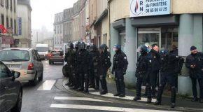 Brest : Retour sur le rassemblement contre la venue de Marine Le Pen