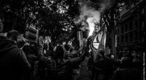 Agitation antifasciste sur Toulouse et sa région