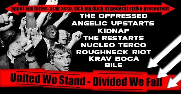 Paris : Festival United we stand - divided we fall #5 @ Le Gibus