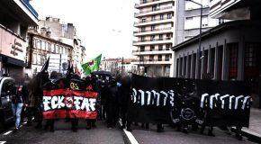 Saint-Etienne : Retour sur la manifestation antifasciste du samedi 7 mars