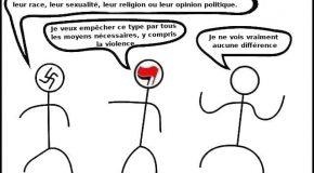 « Les Antifas sont les vrais fascistes » – La question de la violence