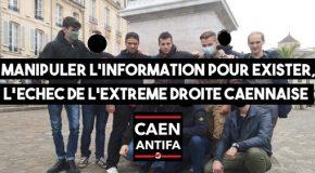 Caen : Manipuler l'information pour exister, l'echec de l'extrême droite Caennaise
