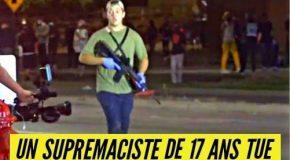 États-Unis : un suprémaciste blanc tire sur la manifestation BLM à Kenosha ; 2 morts