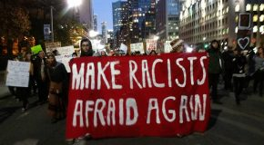 Paris : rassemblement contre le racisme décomplexé de Valeurs Actuelles