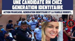 Le Rassemblement National s'invite chez Génération Identitaire