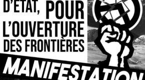 Grenoble : Manifestation contre le racisme et l'extrême-droite