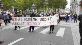 Nancy : 350 personnes contre les Deux Cités