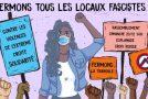 Lyon : vidéo du rassemblement contre les violences d'extrême droite