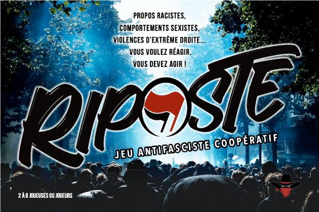 Bourges : présentation du jeu antifasciste coopératif de la Horde