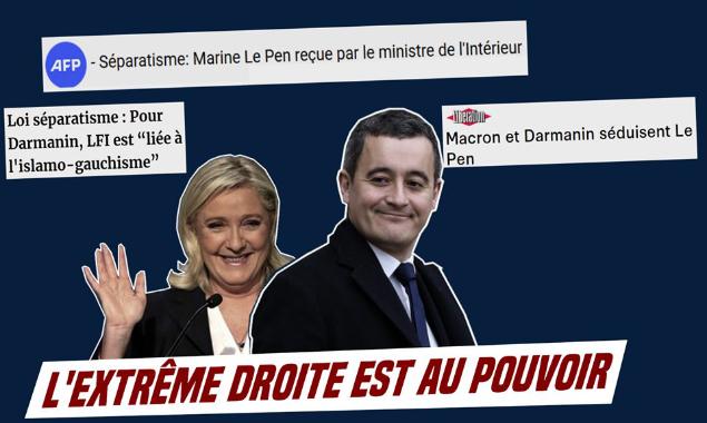 RN : Le Pen reçue au ministère de l'intérieur
